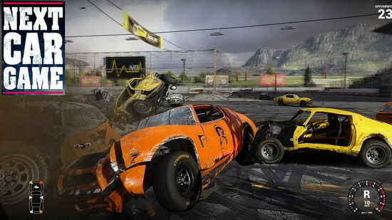 Next Car Game: Wreckfest. Превью игры